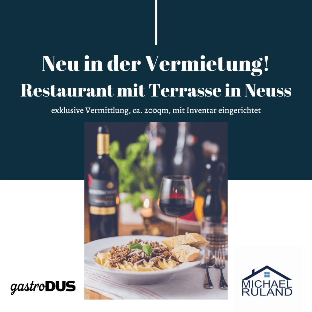 Restaurant in Neuss mieten