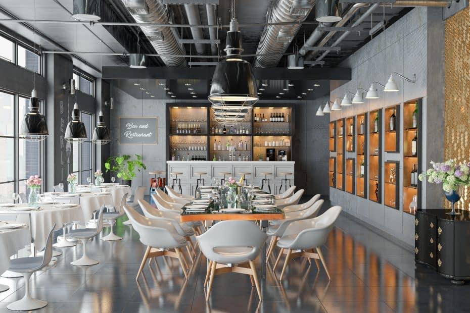 Immobilienmakler Restaurant
